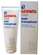 Gehwol anti transpirant