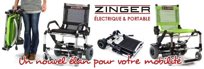 Chaise Roulante électrique Zinger Impact Santé