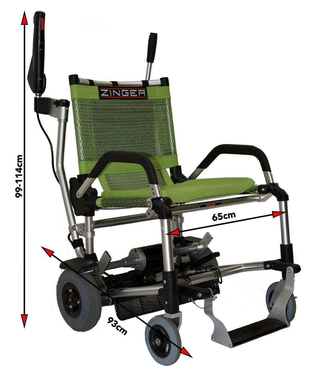 chaise roulante lectrique zinger impact sant. Black Bedroom Furniture Sets. Home Design Ideas